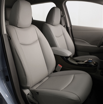NISSAN LEAF SV / SL HATCHBACK Katzkin Leather Seat Upholstery, 2013, 2014, 2015, 2016
