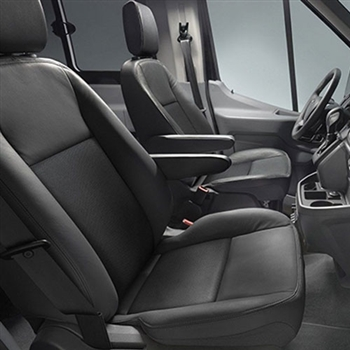 Ford Transit Connect Katzkin Leather Seat Upholstery (front seats only), 2014, 2015, 2016, 2017