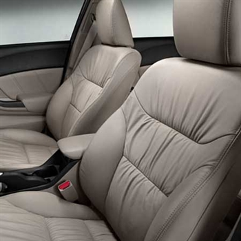 Honda Civic Sedan EX Katzkin Leather Seat Upholstery, 2014, 2015 (gathered design)