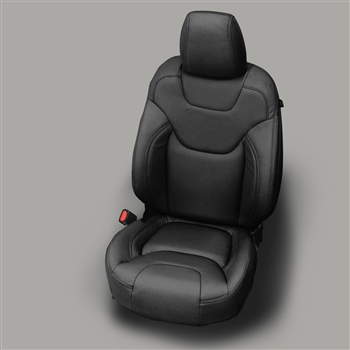 Jeep Cherokee SPORT Katzkin Leather Seat Upholstery, 2014, 2015, 2016, 2017 (manual driver seat, without fold flat passenger seat)