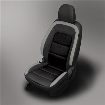 KIA FORTE SEDAN LX Katzkin Leather Seat Upholstery, 2014, 2015, 2016, 2017, 2018 (without rear center armrest)