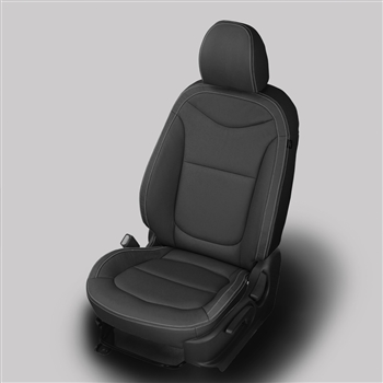 Kia Soul Katzkin Leather Seat Upholstery (without rear center arm rest), 2014, 2015, 2016, 2017, 2018