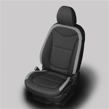 KIA SOUL Katzkin Leather Seat Upholstery (with rear center arm rest), 2014, 2015, 2016, 2017, 2018