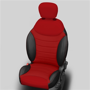 Fiat 500 L EASY SEDAN Katzkin Leather Seat Upholstery, 2015, 2016, 2017 (with rear center armrest)