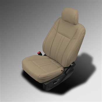 Ford F150 Regular Cab XLT Katzkin Leather Seat Upholstery, 2015