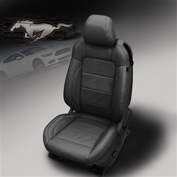 Ford Mustang Convertible V6 / GT Katzkin Leather Seat Upholstery, 2015, 2016, 2017, 2018