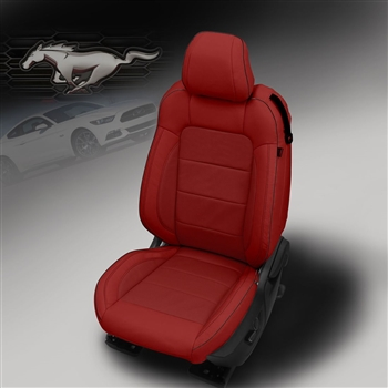 Ford Mustang Coupe V6 / GT Katzkin Leather Seat Upholstery, 2015, 2016, 2017
