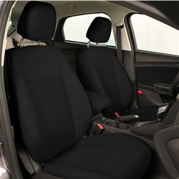 Ford Focus S / SE Sedan Katzkin Leather Seat Upholstery, 2015, 2016, 2017