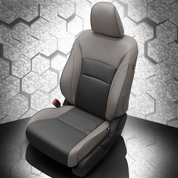 Honda Accord Sedan Hybrid Katzkin Leather Seat Upholstery, 2015 (flat design)
