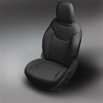 Jeep Renegade Katzkin Leather Seat Upholstery (without rear armrest), 2015, 2016, 2017