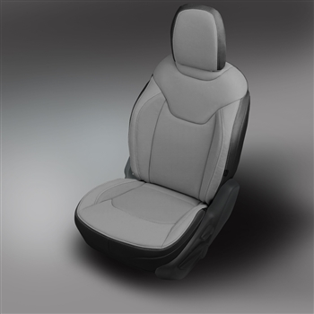 Jeep Renegade Katzkin Leather Seat Upholstery (with rear armrest), 2015, 2016, 2017, 2018