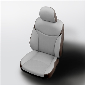 Toyota Prius V Wagon Katzkin Leather Seat Upholstery (without rear armrest), 2015, 2016, 2017