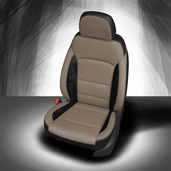 Chevrolet Cruze L / LS Katzkin Leather Seat Upholstery, 2016, 2017, 2018 (new body style, solid rear without rear center armrest)