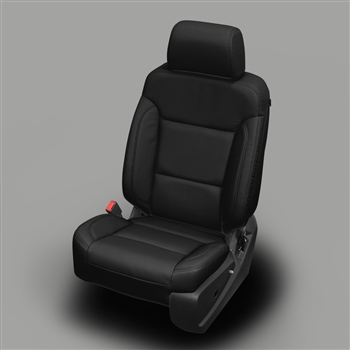 GMC Yukon SLE / XL Katzkin Leather Seat Upholstery, 2016, 2017, 2018 (3 passenger front seat, with third row seating)