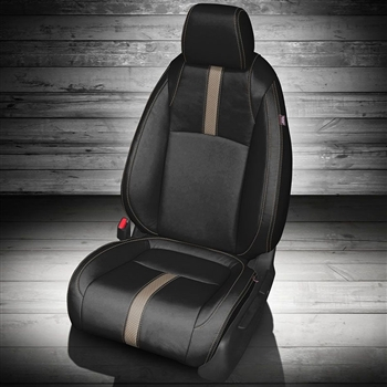 Honda Civic Coupe LX / LX-P / EX-T Katzkin Leather Seat Upholstery, 2016, 2017, 2018