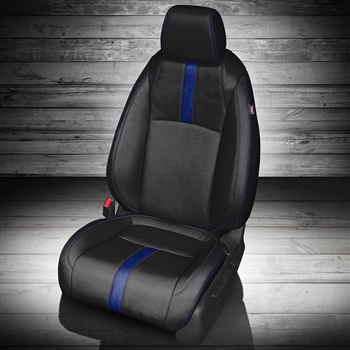 Honda Civic Sedan EX / EX-T Katzkin Leather Seat Upholstery, 2016, 2017, 2018