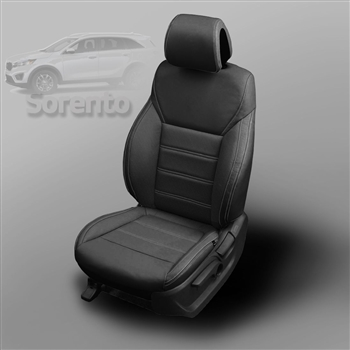 Kia Sorento L / LX Katzkin Leather Seat Upholstery, 2016, 2017 (without third row seating)