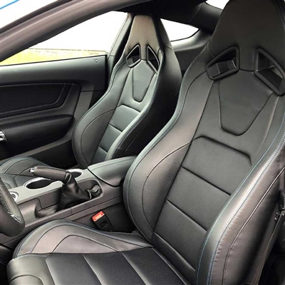Ford Mustang Coupe Shelby GT350 Katzkin Leather Seat Upholstery, 2017, 2018
