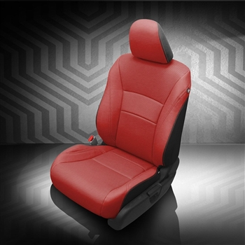 Honda Accord Sedan Hybrid Katzkin Leather Seat Upholstery, 2017 (flat design)