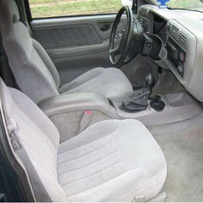 GMC Sonoma REGULAR CAB Katzkin Leather Seat Upholstery, 1995, 1996, 1997