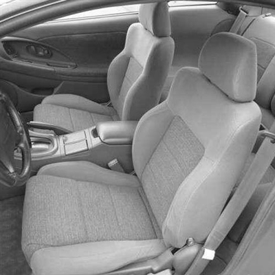 MITSUBISHI ECLIPSE RS Katzkin Leather Seat Upholstery, 1995, 1996, 1997, 1998, 1999