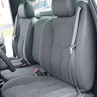 GMC Sierra REGULAR CAB Katzkin Leather Seat Upholstery, 1997, 1998
