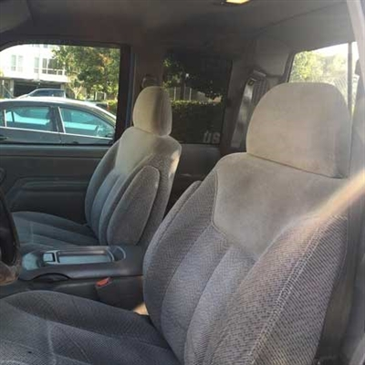 GMC Sierra EXTENDED CAB Katzkin Leather Seat Upholstery, 1997, 1998