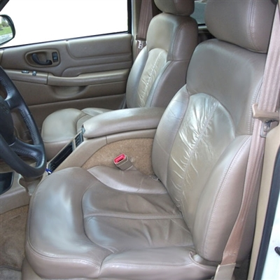 GMC JIMMY 4 Door Katzkin Leather Seat Upholstery, 1998, 1999, 2000, 2001, 2002