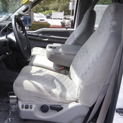 1999 Ford F250 / F350 Super Cab Katzkin Leather Upholstery