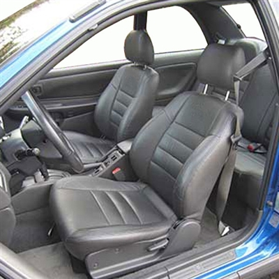 SUBARU IMPREZA SEDAN Katzkin Leather Seat Upholstery, 2000, 2001