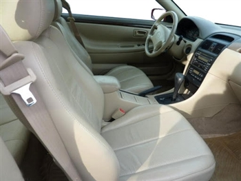 2000, 2001, 2002, 2003 Toyota Solara Convertible Katzkin Leather Upholstery