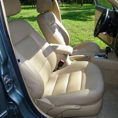 VOLKSWAGEN PASSAT SEDAN Katzkin Leather Seat Upholstery, 2000, 2001