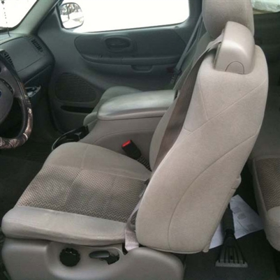 2001, 2002 FORD F150 Crew Cab XLT Katzkin Leather Upholstery