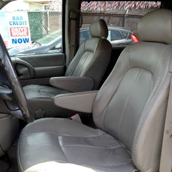 GMC SAFARI Katzkin Leather Seat Upholstery, 1998, 1999, 2000, 2001, 2002, 2003, 2004, 2005