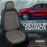 Chevrolet Equinox Katzkin Leather Seat Upholstery Kit