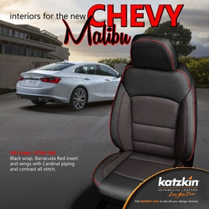 Chevrolet Malibu Katzkin Leather Seat Upholstery Kit