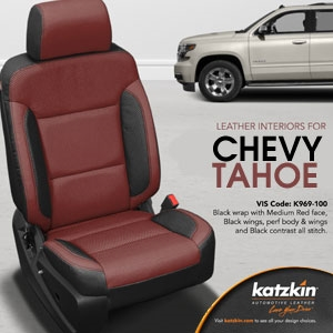 Chevrolet Tahoe Katzkin Leather Seat Upholstery Kit