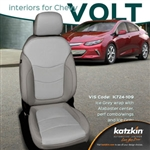 Chevrolet Volt Katzkin Leather Seat Upholstery Kit