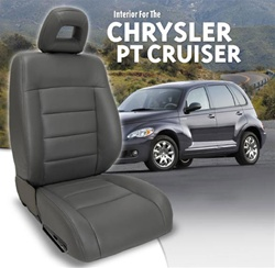 Chrysler PT Cruiser Katzkin Leather Seat Covers | Auto Upholstery