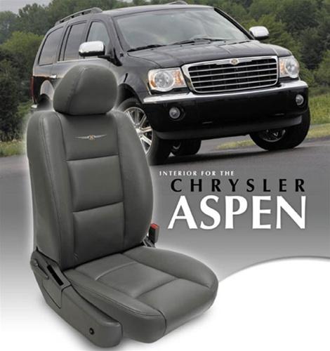 Chrysler Aspen Katzkin Leather Seat Upholstery Kit