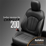 Chrysler 200 Katzkin Leather Seat Upholstery Kit