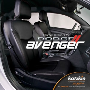 Dodge Avenger Katzkin Leather Seat Upholstery Kit