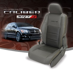 Dodge Caliber Katzkin Leather Seat Upholstery Kit