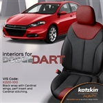 Dodge Dart Katzkin Leather Seat Upholstery Kit