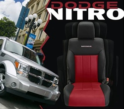 Dodge Nitro Katzkin Leather Seat Upholstery Kit