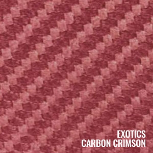 Katzkin Color Exotic Carbon Crimson