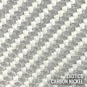 Katzkin Color Exotic Carbon Nickel