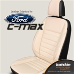 Ford C-Max Katzkin Leather Seat Upholstery Covers