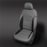 Hyundai VElantra Katzkin Leather Seat Upholstery Kit