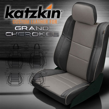 Jeep Grand Cherokee Katzkin Leather Seat Upholstery Kit